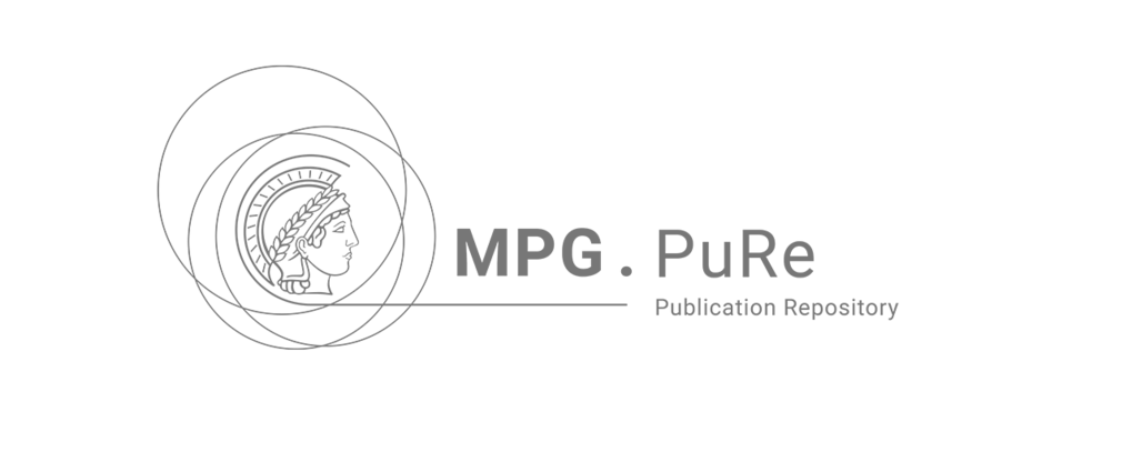 MPG.PuRe (Max Planck Society publication repository)